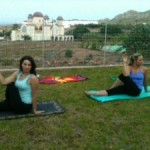 YoGailates in Lindos