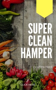 Gluten free clean hamper