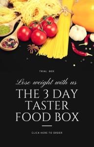 3 DAY TASTER BOX