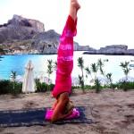 Gail Taking A Yoga Class