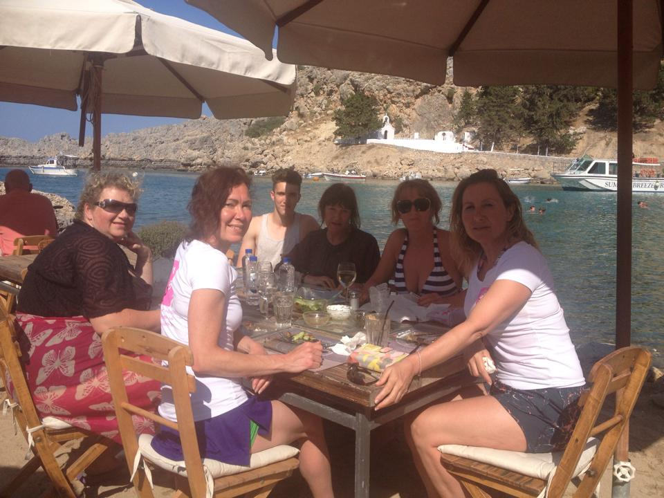 Fantastic Lunch at St. Paul's Bay