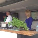 Lichfield Food Festival demo with Chef Simon Smith