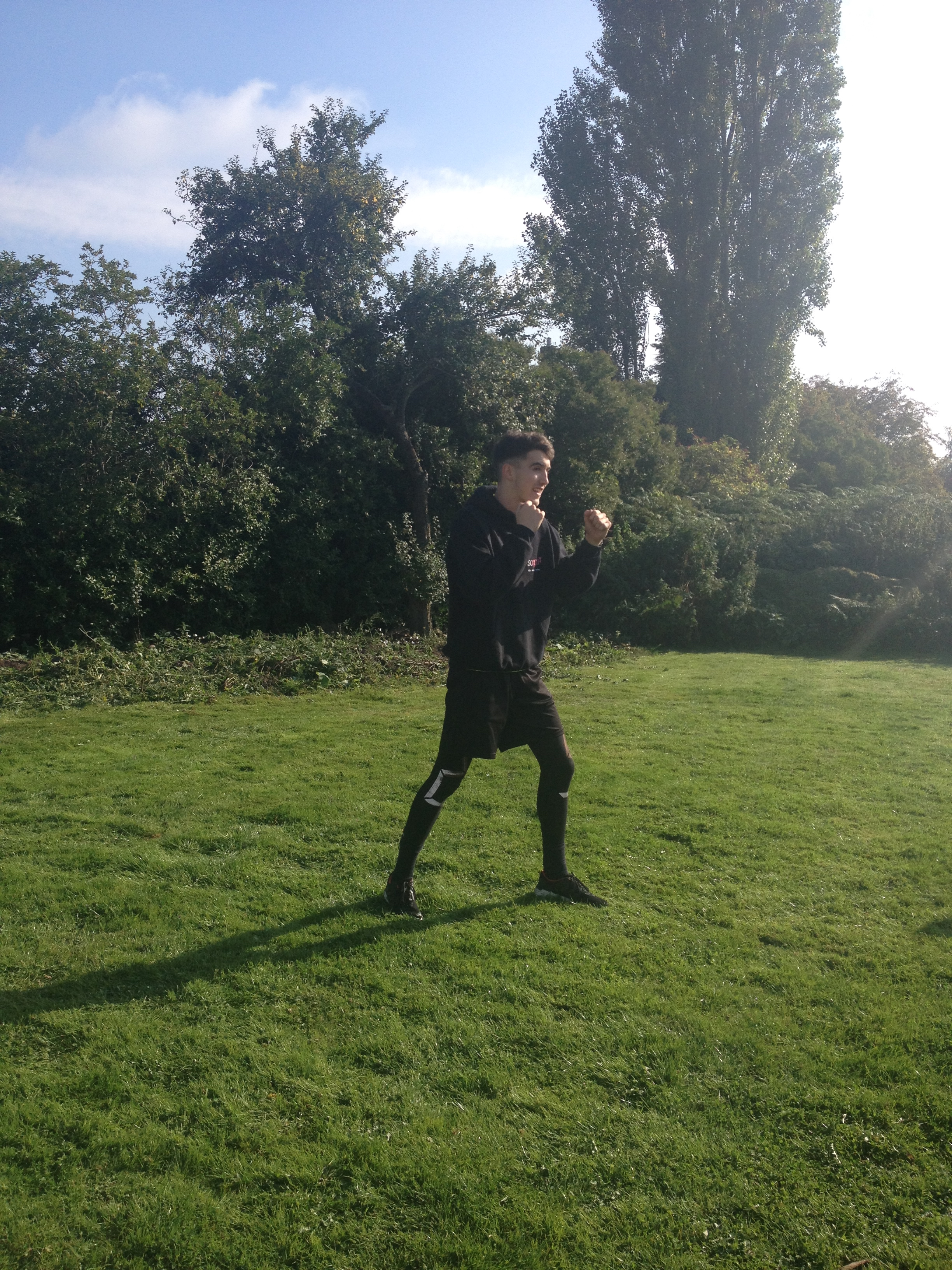 Box Fitness with Elias -Abbey-Pedley